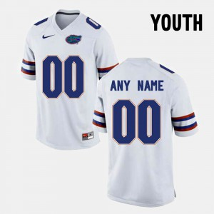 For Kids Seminoles #00 White College Limited Football Customized Jersey 589435-260