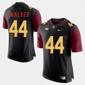 Men's Florida State #44 DeMarcus Walker Black College Football Jersey 542342-120