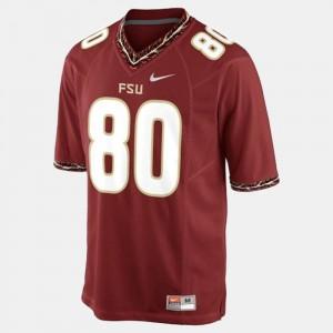 Mens FSU Seminoles #80 Rashad Greene Sr. Red College Football Jersey 167898-501
