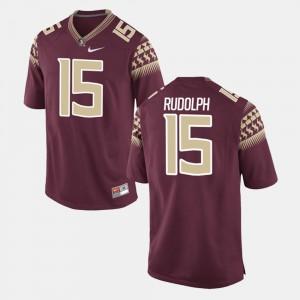 Men FSU #15 Travis Rudolph Garnet Alumni Football Game Jersey 784677-949